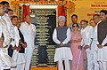 The Prime Minister, Dr. Manmohan Singh at the launch of Mumbai Metro Rail Project, in Mumbai on June 21, 2006.jpg