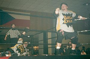 The Public Enemy (professional wrestling) - Image: The Public Enemy pro wrestling March 2002