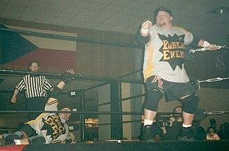 The Public Enemy (professional wrestling) - Image: The Public Enemy pro wrestling March 2002