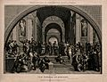 The School of Athens; a gathering of renaissance figures in Wellcome V0006665.jpg