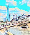 The Shard in view from the Millennium Bridge,London. DSC 0248 (3).jpg