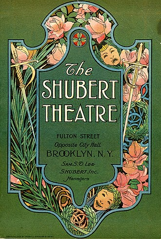 Playbill cover for the Shubert Theatre presentation of John Hudson's Wife The Shubert Theatre00.jpg