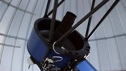 File:The TRAPPIST telescope in its dome at La Silla.webm