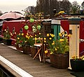 The Thames at Kingston. A moored Houseboat. - panoramio.jpg