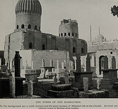 The Tombs of the Mamelukes and the Great Mosque of Mehemet Ali on the Citadel. (1911) - TIMEA.jpg