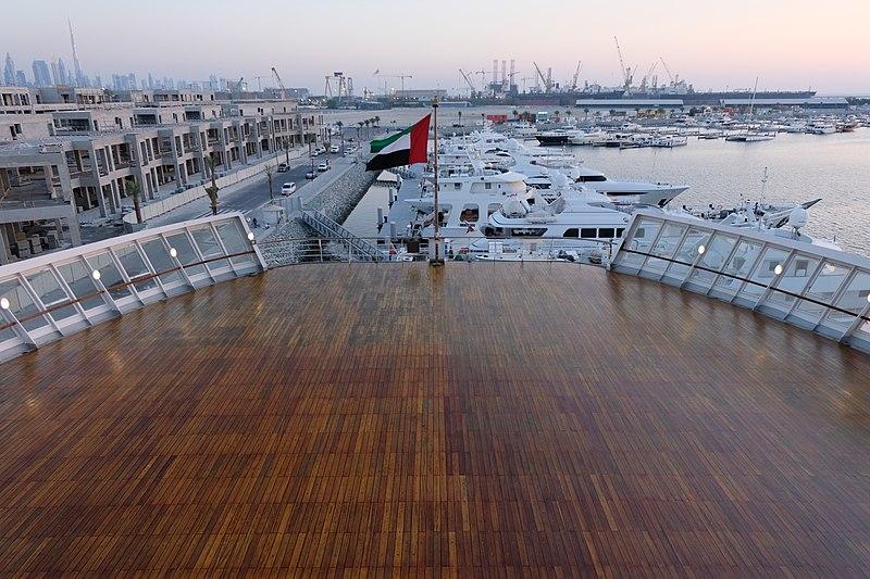 File:The UAE Flag on QE2.jpg