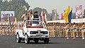 The Union Home Minister, Shri Rajnath Singh inspecting the Guard of Honour, at the CRPF Diamond Jubilee Parade, at Gurgaon, Haryana on November 13, 2014.jpg