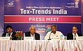 The Union Minister for Textiles, Dr. Kavuru Sambasiva Rao addressing the Press, at the inauguration of the 4th Edition of Tex Trends India 2014, in New Delhi on January 20, 2014.jpg
