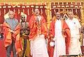 The Vice President, Shri M. Venkaiah Naidu addressing the gathering after attending the Sreenivasa Kalyanam, in Chennai on January 17, 2018. The Governor of Tamil Nadu, Shri Banwarilal Purohit is also seen.jpg