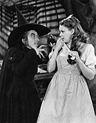 The Wizard of Oz Margaret Hamilton Judy Garland 1939