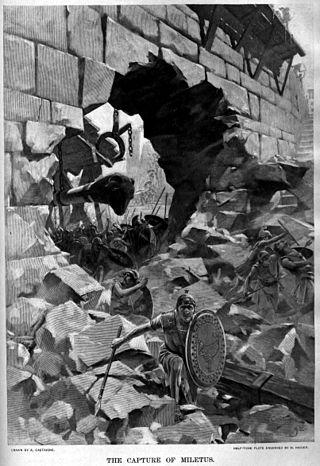 Siege of Miletus