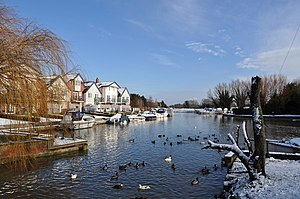 Loddon, Norfolk - The River Chet