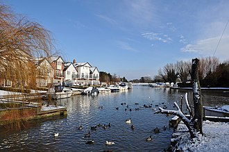 Loddon, Norfolk - The River Chet
