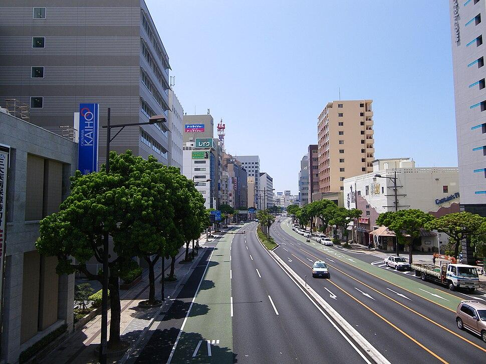 The main streets of Naha city 2