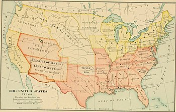 Compromise Of Simple English Wikipedia The Free Encyclopedia - Compromise of 1850 map