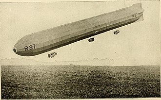History of the Royal Air Force - R 27 airship 1918