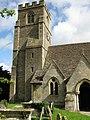 The tower of St Mary's church, Hullavington - geograph.org.uk - 1550496.jpg