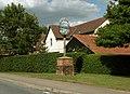 The village sign at Wickhambrook - geograph.org.uk - 1404748.jpg