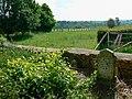 The western edge of the churchyard, the Parish Church of St John the Baptist, Bodicote - geograph.org.uk - 1893151.jpg