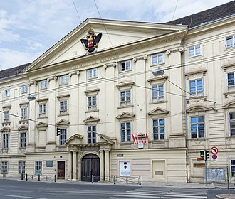 Theresianum - Theresian Academy, located in the New Favorita palace in Vienna