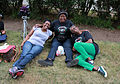 Three women marchers at the end of the day - NAN - 50th Anniversary of the March on Washington for Jobs and Freedom.jpg