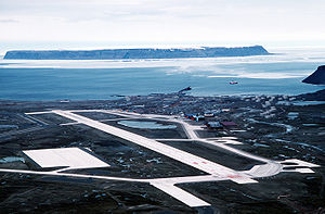 Thule Air Base - 1989 aerial view