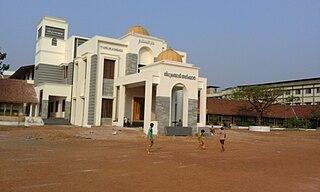 town in Kerala, India