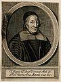 Tobias Venner. Line engraving by W. Faithorne, 1600. Wellcome V0006012EL.jpg