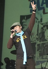 TobyMac on the Winter Wonder Slam Tour in 2005