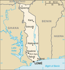 Description de l'image Togo-CIA_WFB_Map.png.