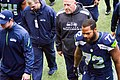 Tom Cable and Michael Bennett in 2013.jpg