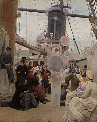 Tom Roberts - Image: Tom Roberts Coming South Google Art Project