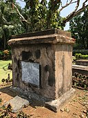 Tomb of Frances Nickees in Dutch Cemetery - Chinsurah - 2017-05-14 3994.jpg