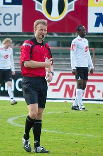 Tommy Skjerven Norwegian football referee