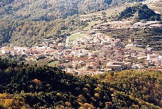 Tonara Comune in Sardinia, Italy