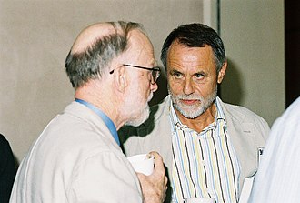 Wolfgang Bibel - Wolfgang Bibel (on the right) with C. A. R. Hoare in 2006.