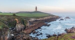 Torre de Hércules, La Coruña, España, 2015-09-25, DD 35-37 HDR