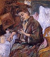 Toulouse-Lautrec - La Toilette Madame Fabre, 1891.jpg