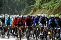 Tour de France 2009 - Stage 13 - Peloton in the rain.jpg