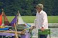 Toy boats in the Tuileries Gardens, Paris 2014.jpg