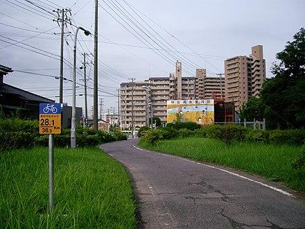 愛知県道288号豊田安城自転車道...
