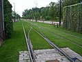 TramStrasbourg lineB OstwaldHDV voieLingolsheim2.JPG