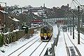 Tram and train at Basford (geograph 5711085).jpg