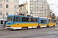 Tram in Sofia mear Macedonia place 2012 PD 011.jpg