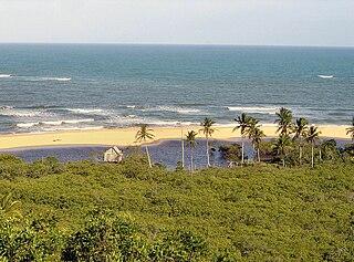 District in Bahia, Brazil