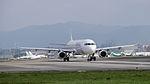 TransAsia Airways Airbus A321-231 B-22610 Departing from Taipei Songshan Airport 20150101b.jpg