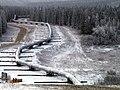 Trans Alaska Pipeline Denali fault shift.jpg