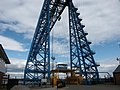 Transporter bridge viewed from southern side of River Tees. - geograph.org.uk - 1759.jpg