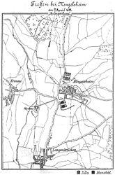 Battle formation near Mingolsheim