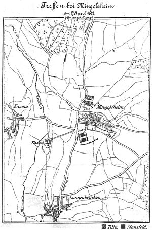 Battle of Mingolsheim - Battlefield in Mingolsheim / Bad Schönborn.
